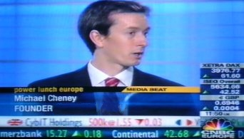 Michael Cheney on NBC Television